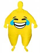 Déguisement gonflable visage heureux adulte Morphsuits™