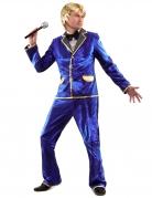 Vous aimerez aussi : Déguisement chanteur disco bleu Homme