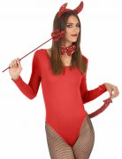 Kit diablesse sequins rouges adulte