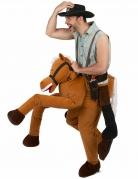 Vous aimerez aussi : Déguisement homme à dos de cheval marron adulte