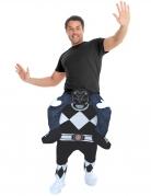 Déguisement homme porté par Power Rangers™ noir adulte Morphsuits™