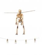 Guirlande de squelettes pendus 156 cm