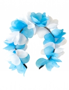 Vous aimerez aussi : Couronne de fleurs bleu et blanche