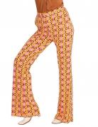 Pantalon groovy disco années 70 femme
