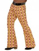 Pantalon groovy disco années 70 homme