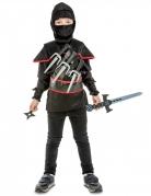Déguisement ninja noir avec accessoires enfant