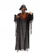 Décoration à suspendre pirate lumineuse 170 cm halloween