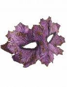 Vous aimerez aussi : Masque violet avec feuilles pailletées femme