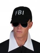 Casquette FBI noire adulte