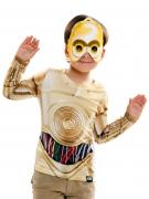 T-shirt C3PO et masque Star Wars™ enfant