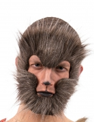Masque loup brun adulte