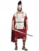 Déguisement gladiateur romain rouge et blanc homme