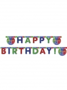 Guirlande Happy Birthday Pyjamasques ™ 200 x 16 cm