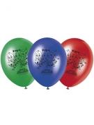 8 ballons imprimés Pyjamasques ™