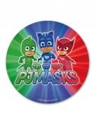 Disque tricolore azyme Pyjamasques™ 20 cm