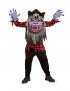 Déguisement loup-garou grosse tête adolescent Halloween