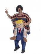 Déguisement mexicain porté par Donald adulte