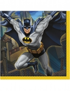 16 Petites serviettes en papier Batman ™ 25 x 25 cm