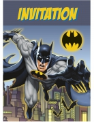 8 Cartes d'invitation Batman ™