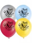 8 Ballons latex Batman ™ 30 cm