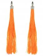 Vous aimerez aussi : Boucles d'oreilles franges orange fluo adulte