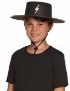 Chapeau justicier masqué enfant