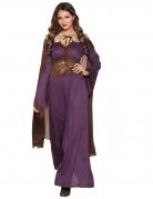 Déguisement dame du nord violette femme