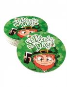 10 Dessous de verre 10 cm Saint Patrick