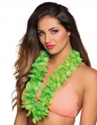 Collier Hawaï vert luxe