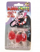 3 Bonbons humoristiques goût sang