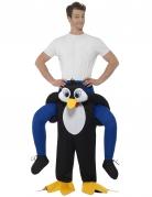 Déguisement homme à dos de pingouin adulte