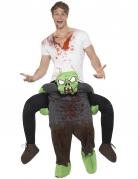 Déguisement homme à dos de zombie adulte Halloween