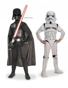 Pack déguisement Dark Vador et Stormtrooper Star Wars ™ enfant