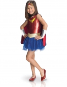 Déguisement luxe Wonder Woman Comic Book™ enfant