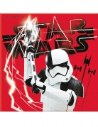 20 serviettes Star wars 8 The Last Jedi ™ 33 x 33 cm