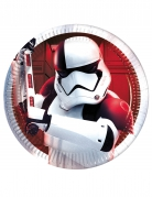 8 Petites assiettes Star Wars 8 The Last Jedi ™ 20 cm