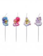 4 Mini bougies Shimmer & Shine ™