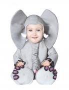 Déguisement éléphant gris bébé