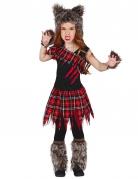 Vous aimerez aussi : Déguisement loup-garou du campus fille Halloween