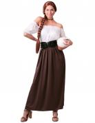 Déguisement tavernière médiévale femme