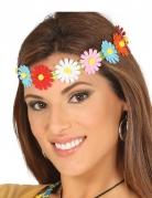 Tour de tête fleurs colorées adulte