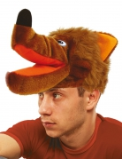 Chapeau loup brun adulte