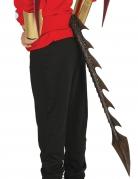 Queue de dragon noire 29 cm
