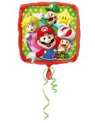 Ballon aluminium Mario Bros ™ 43 x 43 cm