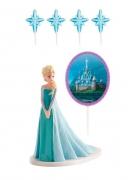 Kit de décorations gâteaux La Reine des Neiges ™ Elsa ™