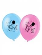 6 Ballons imprimés Peppa Pig ™