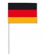 Drapeau papier Allemagne 14 x 21 cm