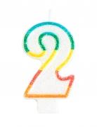 Vous aimerez aussi : Bougie d'anniversaire chiffre 2 7,5 cm