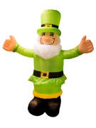 Décoration leprechaun gonflable 180 cm