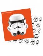 16 Serviettes Stormtroopers™ 33 x 33 cm